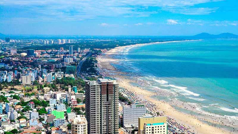 Thành phố biển Vũng Tàu nơi sân golf Chí Linh tọa lạc