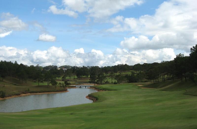 Sân golf Đà Lạt Palace có lịch sử hình thành lâu đời