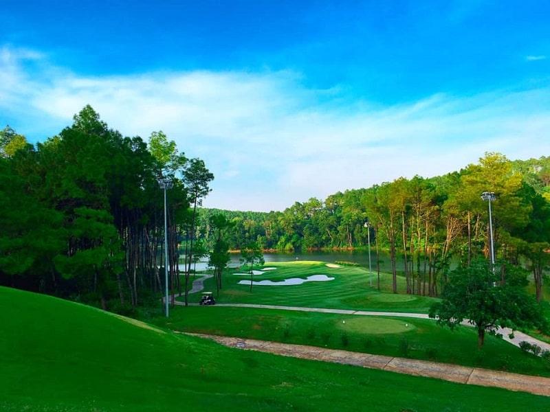 dự án sân golf chuẩn quốc tế