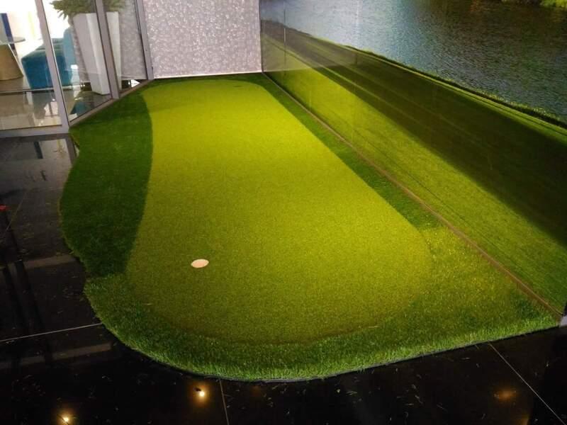 Chơi golf trong nhà rất có lợi cho sức khỏe tim mạch