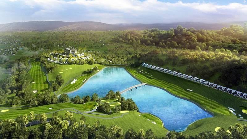Dự kiến sân đánh golf tại Việt Yên sẽ hoàn thành vào đầu năm 2022