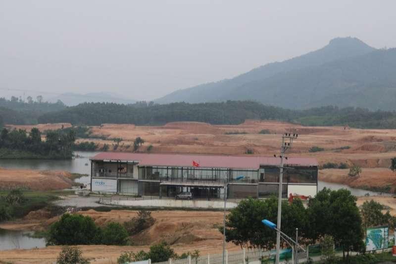 Sân golf Yên Bái có quy mô 210 ha
