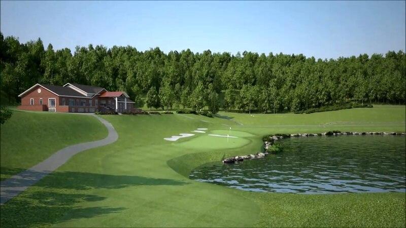 Sân golf Yên Bình Thái Nguyên là dự án trọng điểm của tỉnh (Ảnh minh họa)