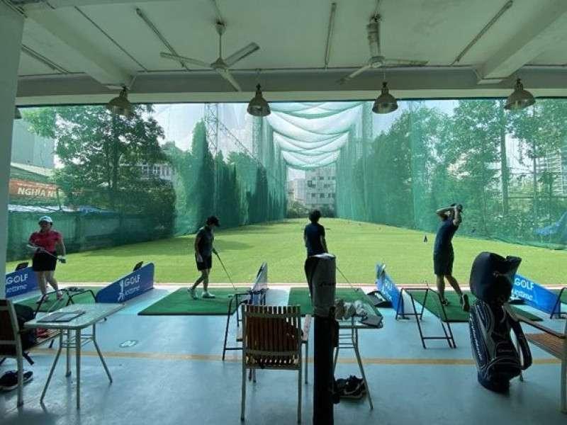 Sân tập golf Viettime là sân tập tiêu chuẩn trong nội thành Hà Nội