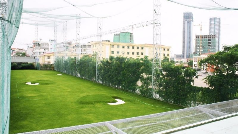 Viettime golf là một trong những sân chơi đầu tiên đi theo mô hình ứng dụng các thiết bị hiện đại chuẩn quốc tế