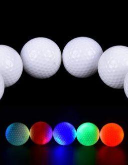 Bóng golf phát sáng là phát kiến hấp dẫn của công ty Night Sports