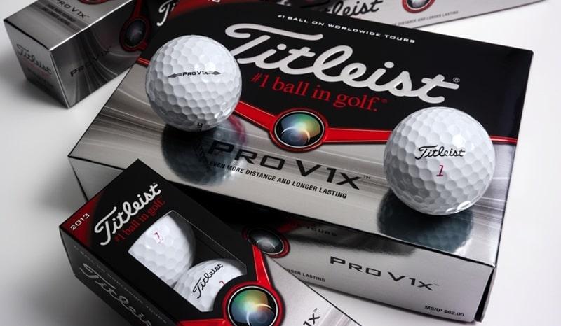 Bóng golf Titleist Pro V1X được rất nhiều golfer yêu thích