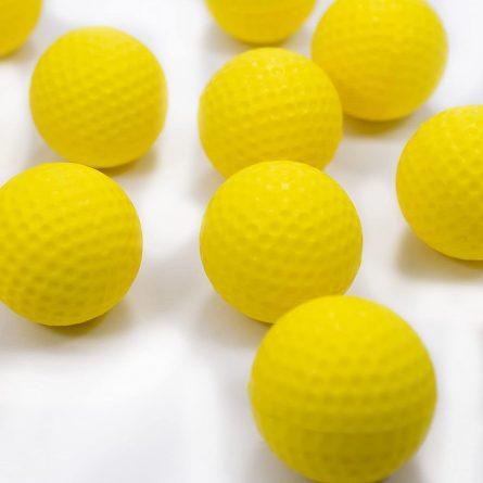 Bóng xốp tập golf là dụng cụ cần thiết để tập golf tại nhà