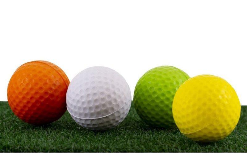 Do cấu trúc lõi đặc biệt, các mẫu bóng xốp tập golf cho cảm giác và chuyển động y như các mẫu bóng golf thông thường