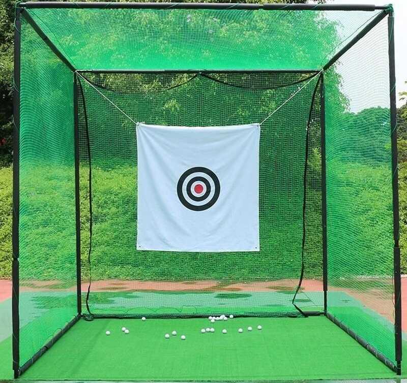 Lều tập golf là một trong những dụng cụ tập tại nhà của golfer