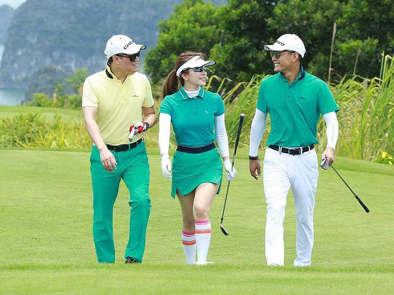 Văn hóa trang phục trong môn thể thao golf luôn được coi trọng