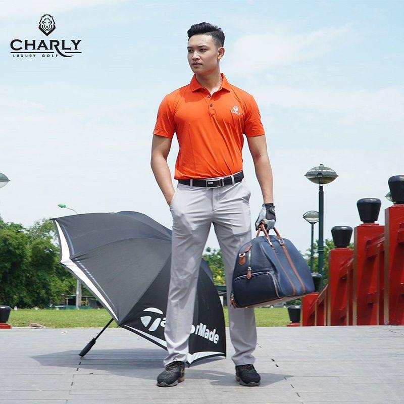Thương hiệu quần áo golf Charly nổi tiếng bậc nhất Hoàng Gia Anh