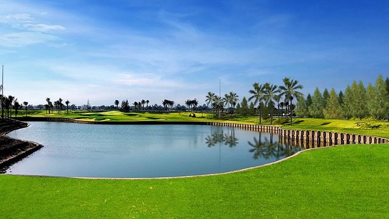thiết kế mặt sân dunes golf