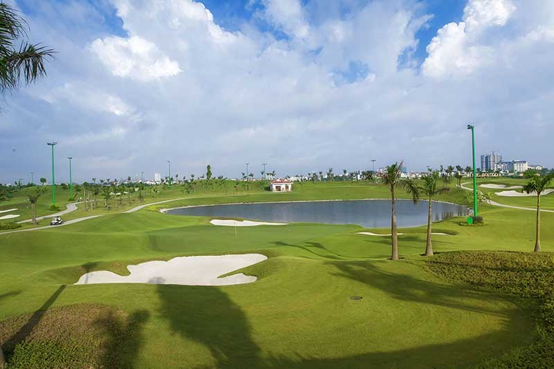 Hanoi Golf Club có thiết kế độc đáo