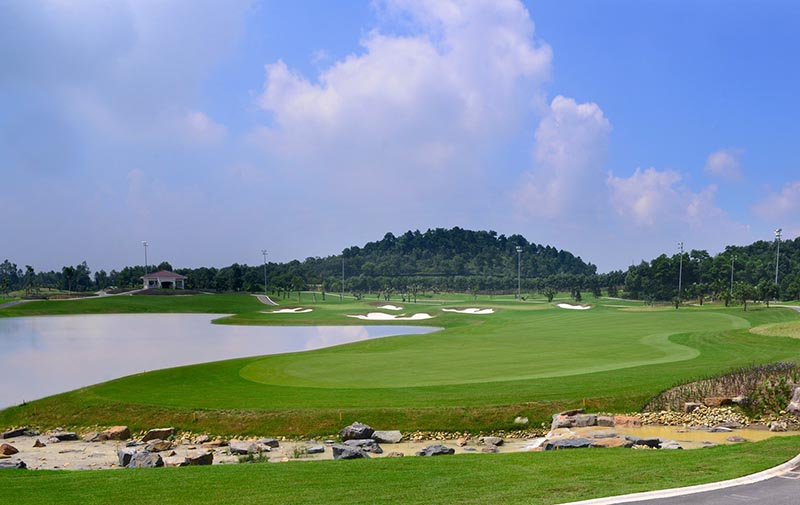 Sân golf Ruby Tree nổi tiếng ở Hải Phòng