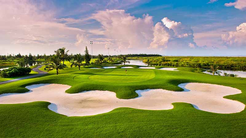 Không gian tuyệt đẹp ở BRG Ruby Tree Golf