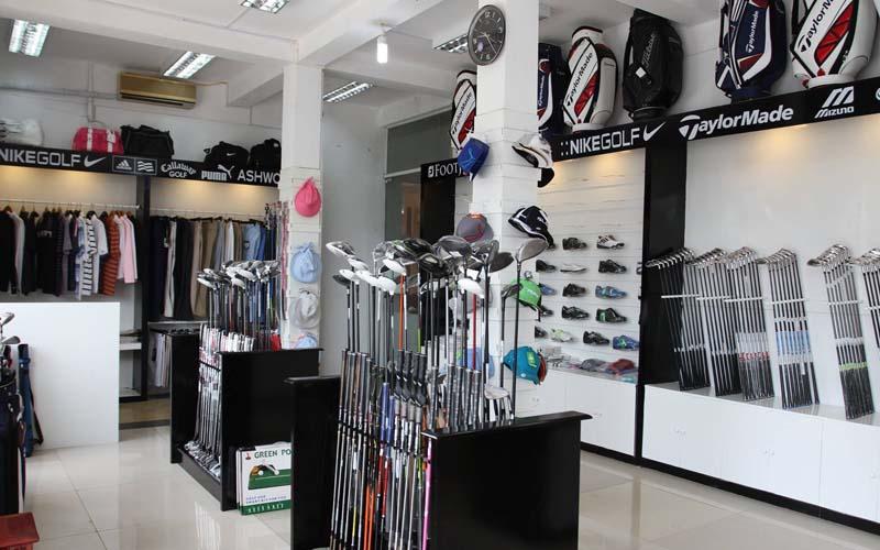 Pro Shop tại sân tập golf Trường Chinh Cảnh Hồ