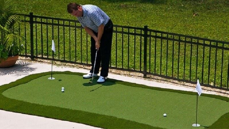 Thảm tập golf cũ vẫn có khả năng đáp ứng mọi nhu cầu về công năng mà người chơi yêu cầu
