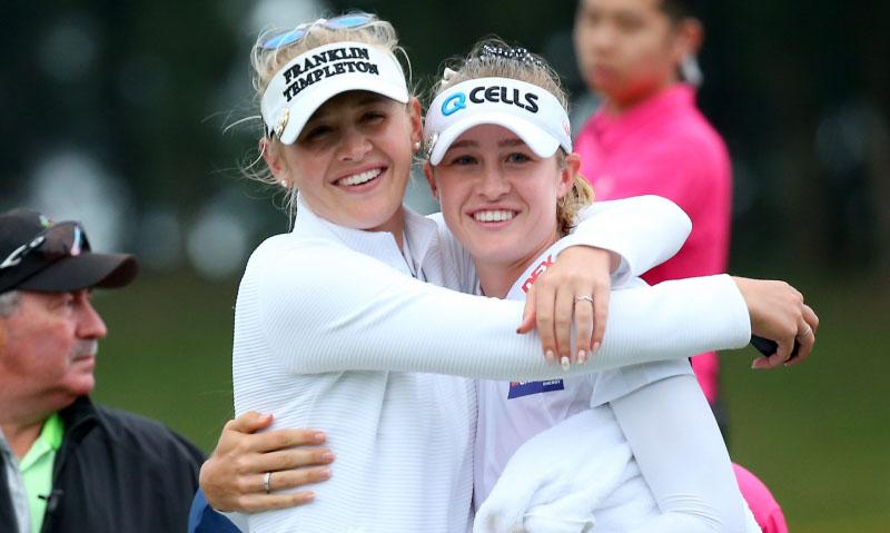 Hai chị em nhà Korda trong tại LPGA 2021