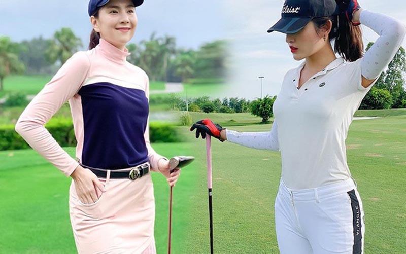 Áo pull golf dài tay