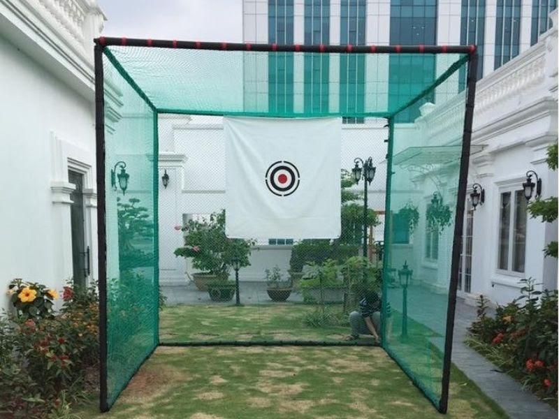 Lồng lưới tập golf là dụng cụ tập golf tại nhà vô cùng cần thiết