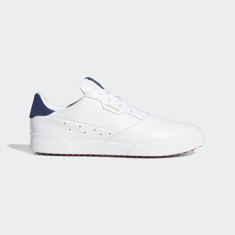 Giày golf Adicross Retro với tone màu basic thanh lịch