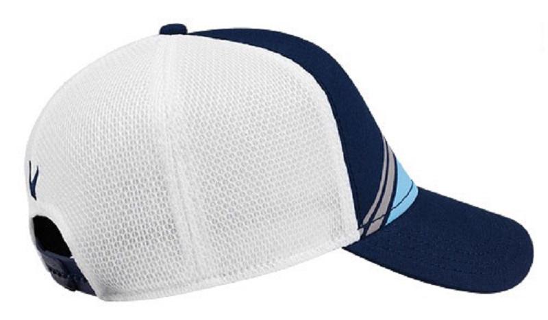 Mũ Stripe Mesh ADJ kiểu dáng ôm sát mang lại sự thoải mái cho golfer