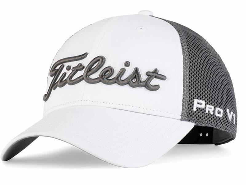 Mũ golf Titleist Pro V1 Performance Mesh là sự kết hợp hoàn hảo giữa các loại vật liệu sản xuất có khả năng thoáng khí