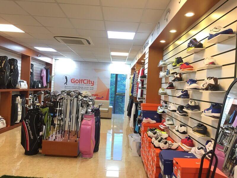Golfcity là cửa hàng chuyên dụng, cung cấp quần áo golf uy tín - chính hãng