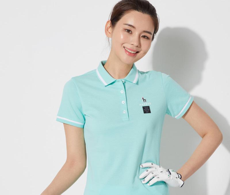 Một mẫu áo golf Hàn Quốc đến từ thương hiệu Hazzys