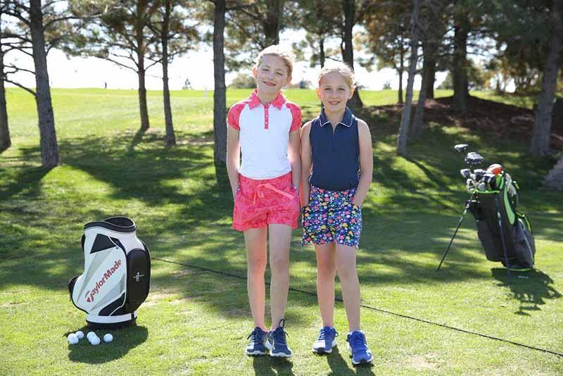 Quần áo golf trẻ em của Adidas siêu thoải mái