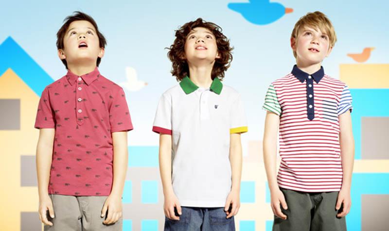 Uniqlo với nhiều mẫu đồ thích hợp cho trẻ chơi golf