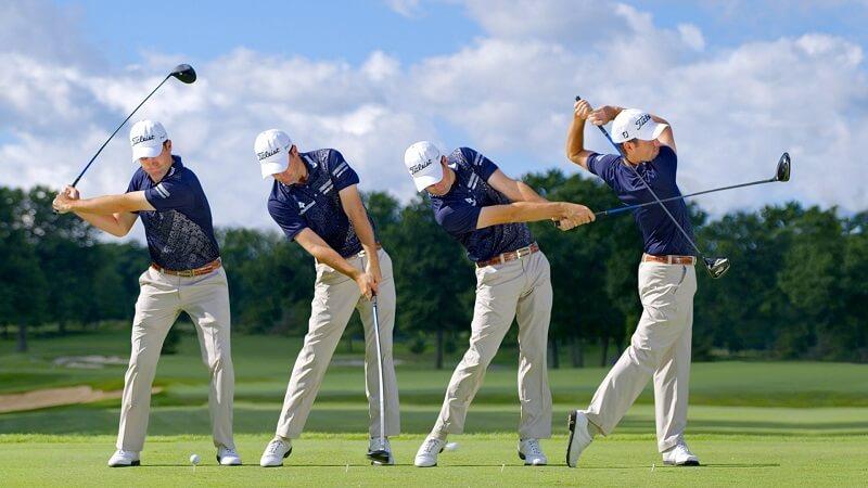 Tập golf tại nhà với tư thế đứng và cách cầm gậy chuẩn thực sự rất cần thiết