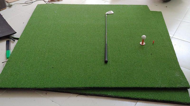 Nếu thiếu đi thảm tập thì việc chơi golf không thể hoàn hảo