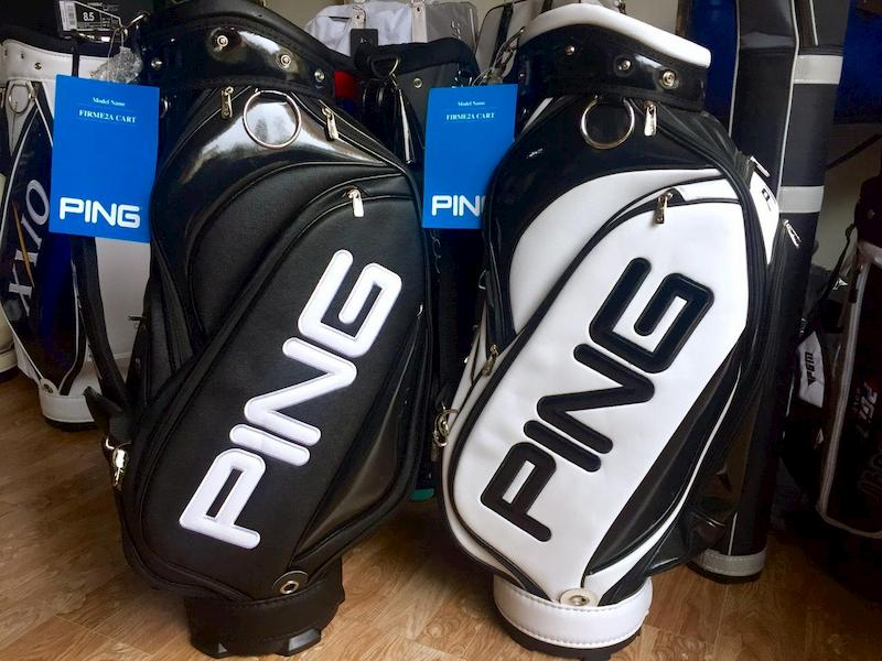 Ping là thương hiệu chuyên các dòng dụng cụ chơi golf nổi tiếng thế giới