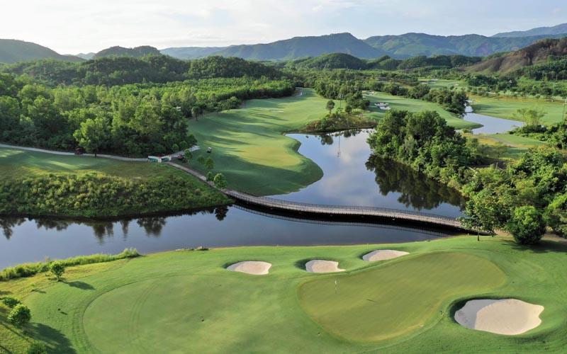 Sân golf Bà Nà Hill với độ dài hơn 7500 yards