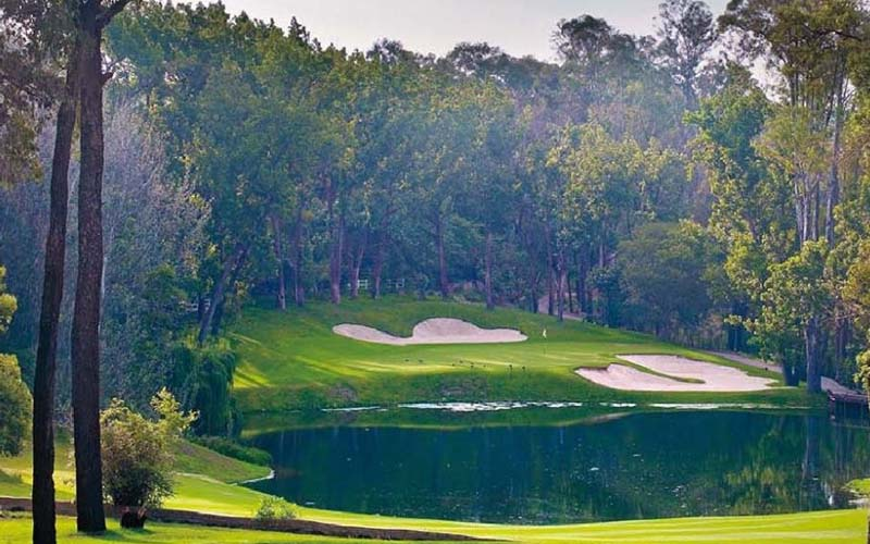 Sân Blair Atholl Golf Course có thảm thực vật phong phú