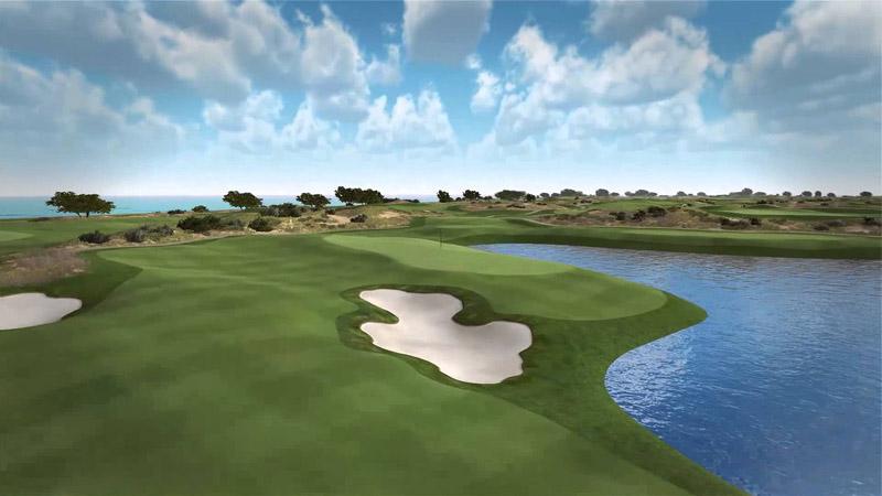 Sân golf FLC Sầm Sơn với cảnh quan ấn tượng