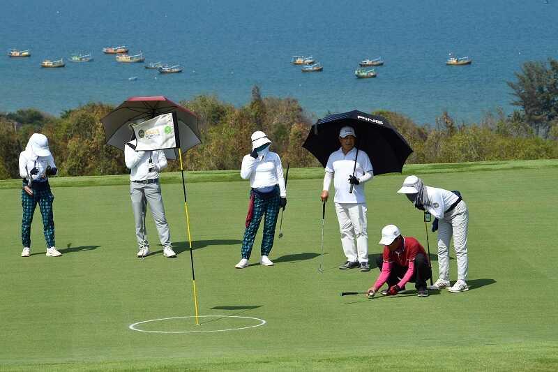 Sân mang lại những trải nghiệm mới lạ cho các golfer
