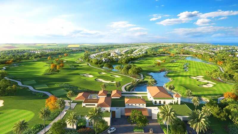 Sân golf Novaworld nằm trên trục đường Lạc Long Quân, thuộc phường Tiến Thành, thành phố Phan Thiết, tỉnh Bình Thuận