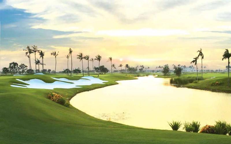 Sân golf quốc tế Móng Cái buổi bình minh