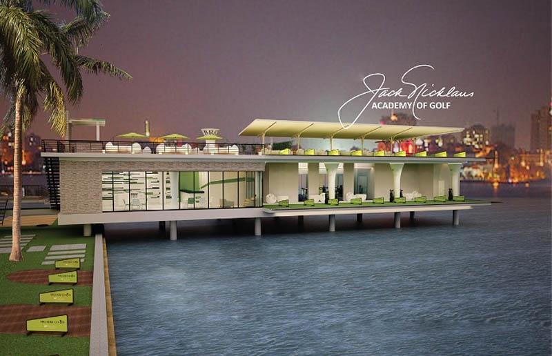 Sân tập golf Hồ tây BRG Center tại khách sạn Thắng Lợi