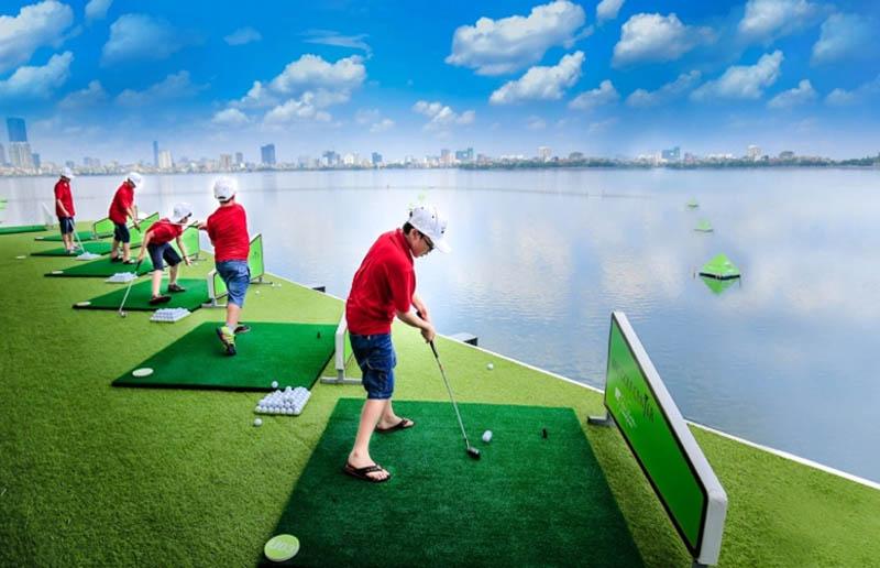 Sân BRG nổi bật với học viện golf Jack Nicklaus