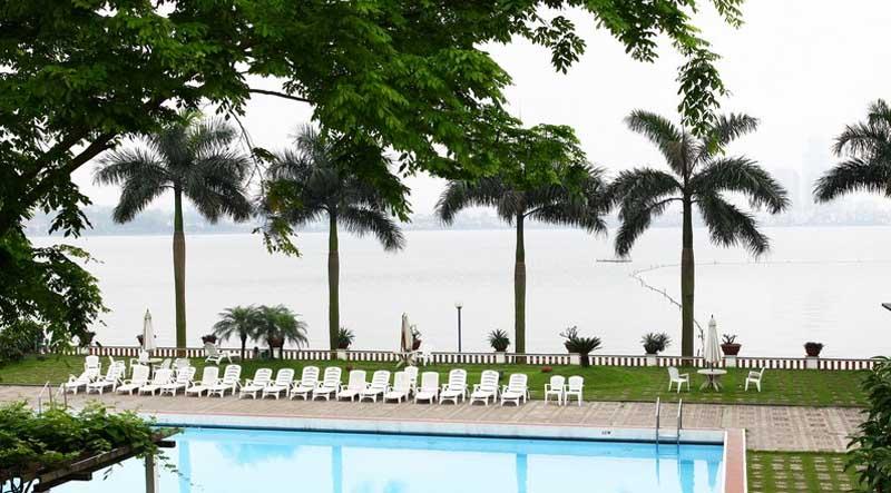 Cảnh quan tuyệt vời tại khách sạn Thắng Lợi