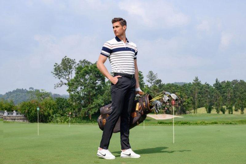 Áo polo là một trong những sản phẩm thời trang golf được các golfer ưa thích và tin dùng