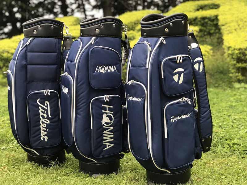 Vải dù là chất liệu chính để tạo nên mẫu túi gậy golf vải dù