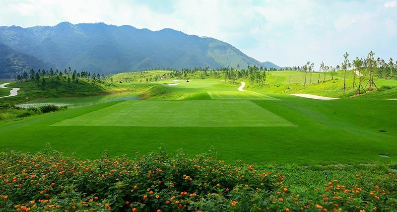 Sân golf Thanh Lanh tuyệt đẹp ở Vĩnh Phúc